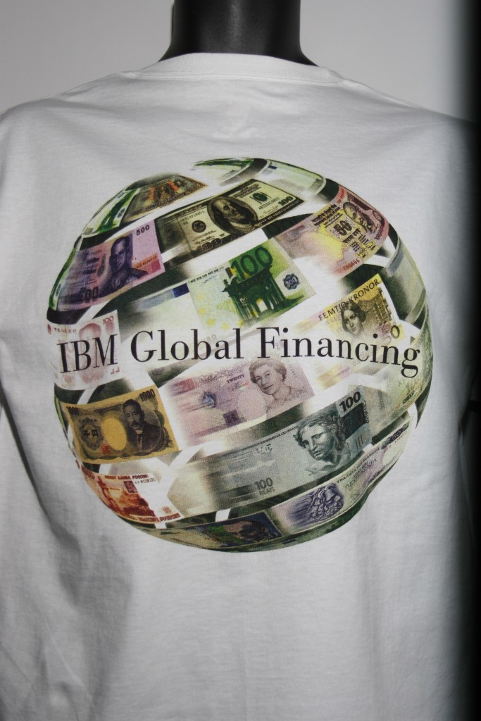 IBM Global Financing 4 color process Jurassic Prints